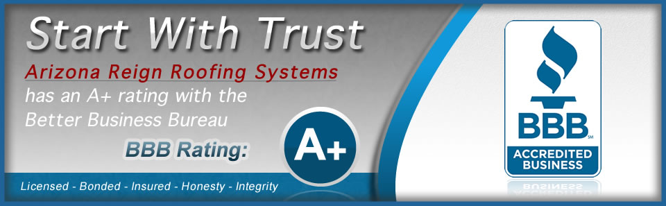 Start With Trust - We have an A+ Rating With the Better Business Bureau